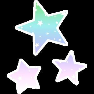 Regenbogensterne Regenbogen Sterne Pastell Farben