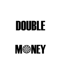 Tripple Is Funny Double Makes Money Darts Geschenk