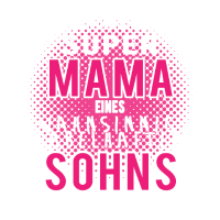 Damen Shirt Mutter Sohn Geschenk fuer Mama Muttert