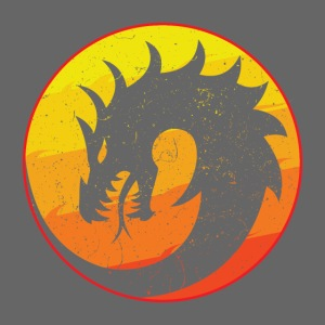 Flaming Dragon Retro
