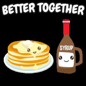 Pancakes + Sirup