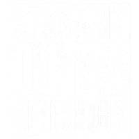 STRAIGHT OUTTA AFTERHOUR lustiges Party T-Shirt