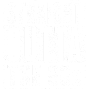 STRAIGHT OUTTA THE 90s lustiges 90er Jahre T Shirt