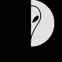 Schwarz Weiss Alien