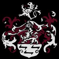 Wappen Löwe weiß