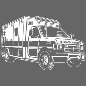 Krankenwagen / Rettungswagen 01_weiß