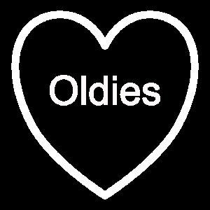 Oldies Herz Musik Geschenk Geschenkidee Spruch