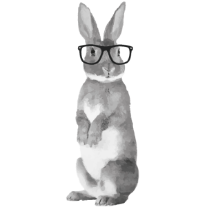 Hipster Hase GR