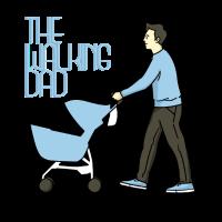 Vater geht spazieren