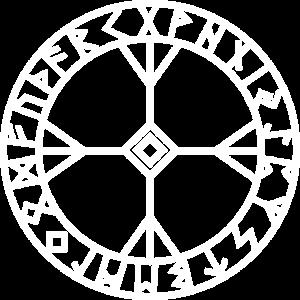 Rune Algiz Amulett Vikings Glücksbringer Schutz