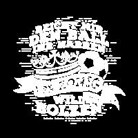 Fußball: Der König will bolzen - Geschenk