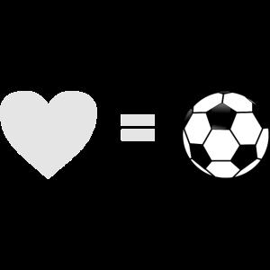 Liebe zum Fußball