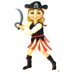 Pirate Girl Woman
