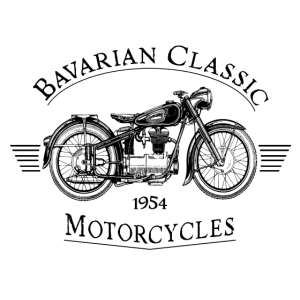 Bavarian Classic Motorcycles - Black