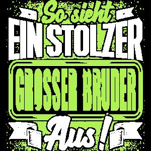 Grosser Bruder - stolz