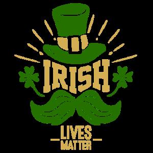 Die Iren Leben besser - Kleeblatt Irischer Hut