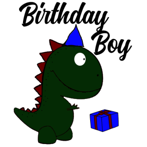t-Rex Birthdayboy