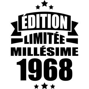 édition limitée millésime 1968