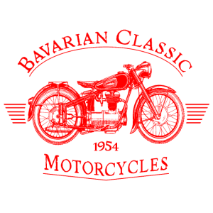 Bavarian Classic Motorcycles - red