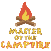 Master of the Campfire Funny Camping Gift