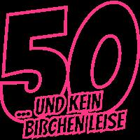fünfzigster Geburtstag