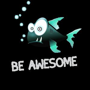 fisch angler be awesome fish piranha underwater bi