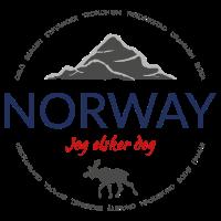 Norway grunge button