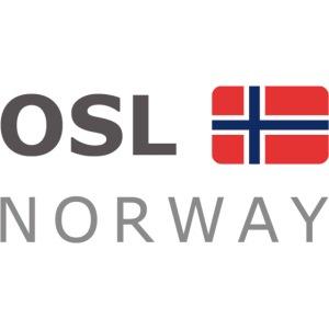 OSL NORWAY dark-lettered 400 dpi