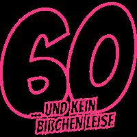 sechzigster Geburtstag