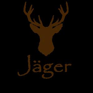 Jäger Bärenjäger Bär Baer Jaeger T-Shirt