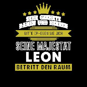 Seine Majestät, Leon, Name, Geschenk, Vorname