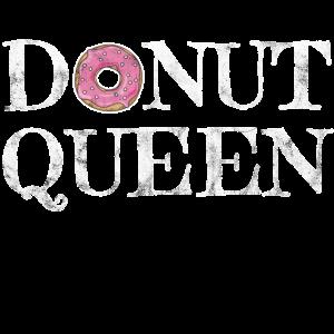 Donut Queen Royal Lecker Süß Geschenk Idee