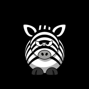 Ich hasse Menschen Zebra Fun Shirt Hoodie Geschenk
