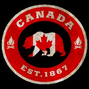 Kanada Bär Vintage / Geschenk