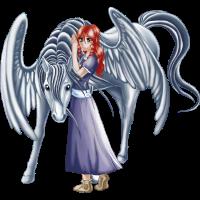 Mädchen und Pegasus 3