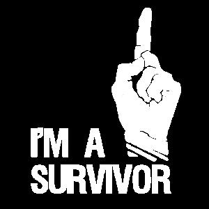 DbD I´m a survivor white