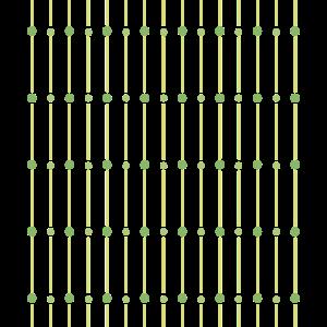 grüne Kreise