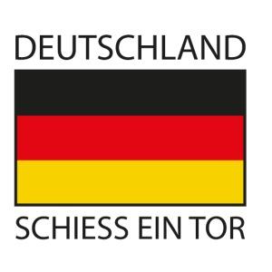 Deutschland Schiess ein Tor PX