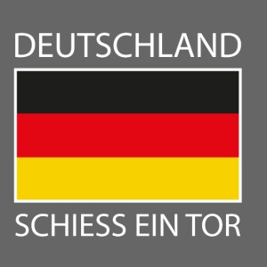 Deutschland Schiess ein Tor PX invers
