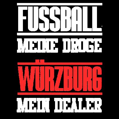 Würzburg Mein Dealer - Fußball meine Droge - Würzburg Mein Dealer - Fußball meine Droge. Geschenk für Mann Frau. Für die aktuelle Saison das beste Design. Ein Topseller. Ein Bestseller. Wenn du deinen Verein liebst, ist das das perfekte Shirt. - würzburg,verein,ultra,stadion,schenken,liga,liebe,geschenk,fan,droge,dealer,club,Meister,Fußballspiel,Fußballplatz,Fußballmannschaft,Fußballer,Fußball-Fan,Fußball,Fussballfan,Fanshirt,Deutschland