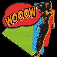 WOOOW Lady - Lebenslust, Popart