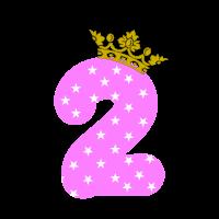 Zweiter Geburtstag Geschenk Girl Baby second