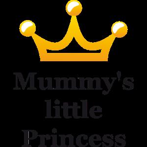 Mummys little Princess schwarz mit Krone