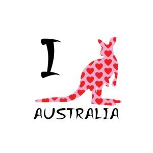 I heart Australia Kangaroo