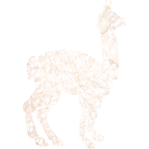Lama Alpaka #1 Weiß Geschenk Geschenkidee