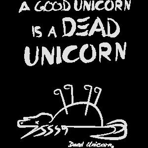 Dead Unicorn Original / T-Shirt