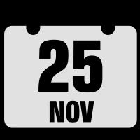 25 november jahrestag geburtstag 2c