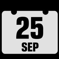 25 september jahrestag geburtstag 2c