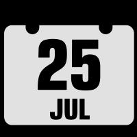 25 juli jahrestag geburtstag 2c