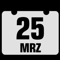 25 maerz jahrestag geburtstag 2c